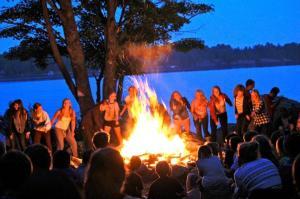 wanakita camp fire