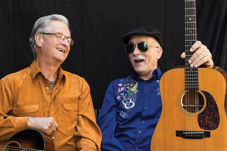 "Jim Kweskin and Geoff Muldaur, ""Penny's Farm"""